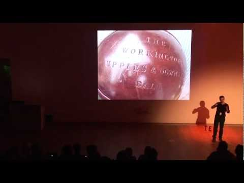 TEDxMerseyside - John O'Shea - Pigs Bladder Football