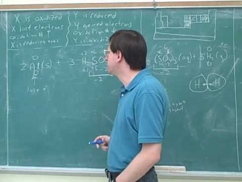 Chemistry: Balancing redox reactions (4)