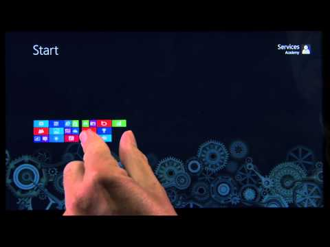 "Windows 8: Touch 101 (A Geek Squad ""Two Minute Miracle"" video)"