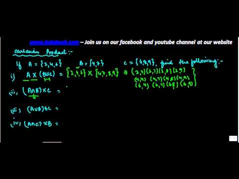 605.Multiple Problems on Cartesian Product   Solving unions and intersection