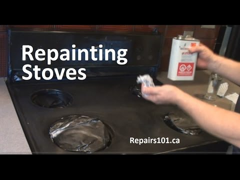 Repainting Stoves