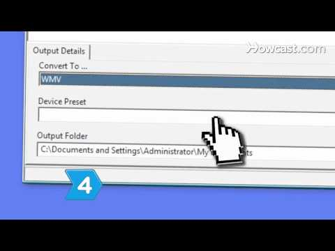 How to Convert MP4 Files to WMV