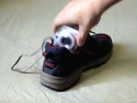 How to take camera out of shoe - How To Do Anything TV video