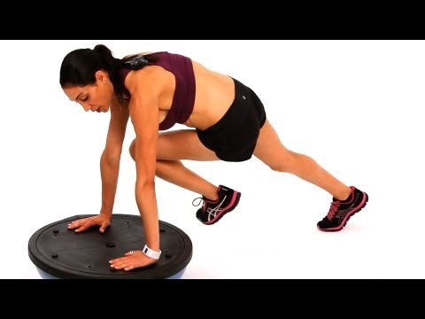 How to Strengthen Your Core with Bosu Ball Exercises | Exercise Ball Workout