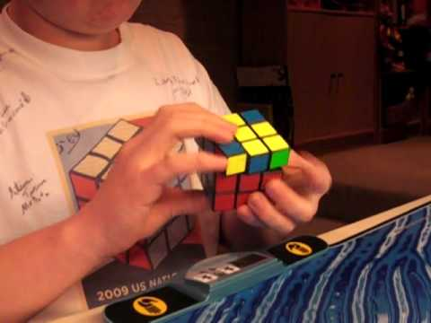 Rubik's Cube in 10.47 seconds... OMG! PERSONAL BEST