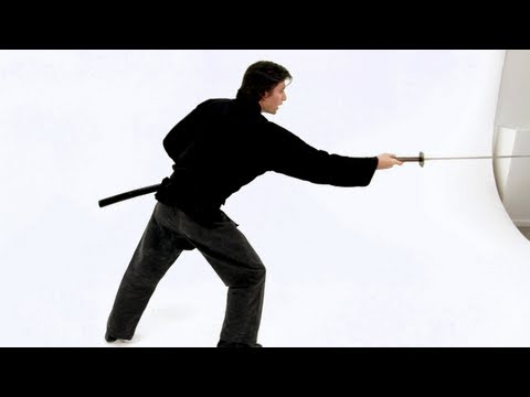 Nage Ken | How to Throw a Sword | Katana Sword Fighting