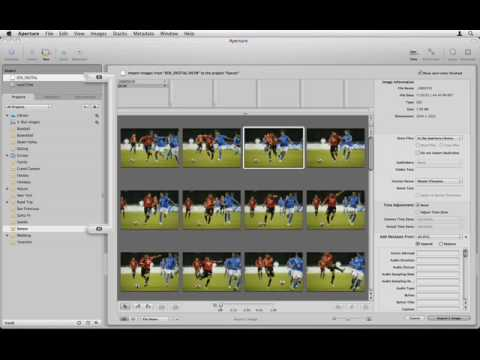 Aperture 2 Tutorials : 2.1.1 Introduction - Importing - Basics