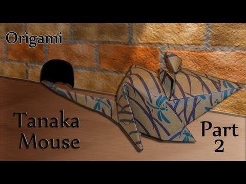 Origami Tanaka Mouse Part 2