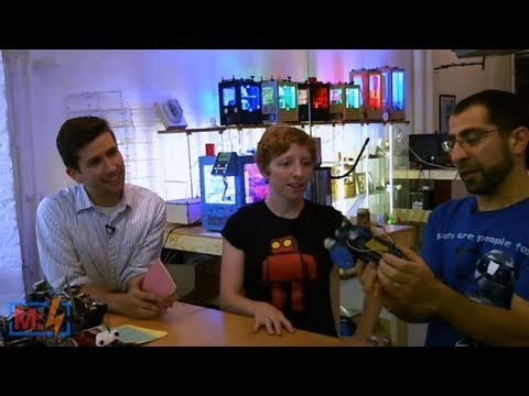 Andrew Terranova's DIY Robots on Make: Live ep12
