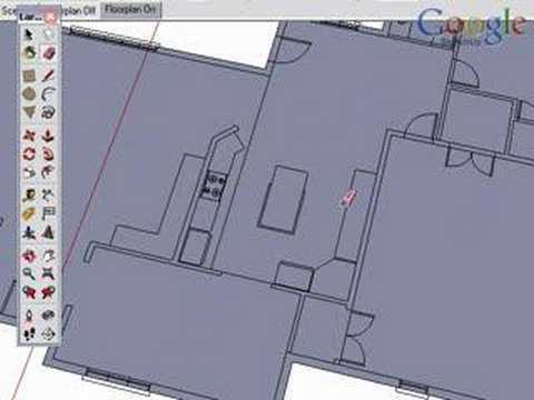 SketchUp and CAD - Creating Walls