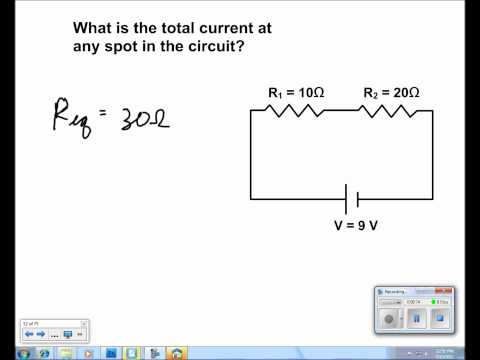 Electric Current and Circuits Presentation #25