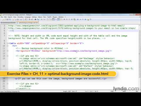 How to solve common HTML email problems | lynda.com tutorial