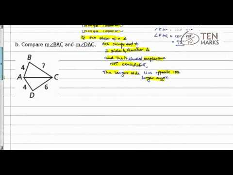 Hinge Theorem and its Converse
