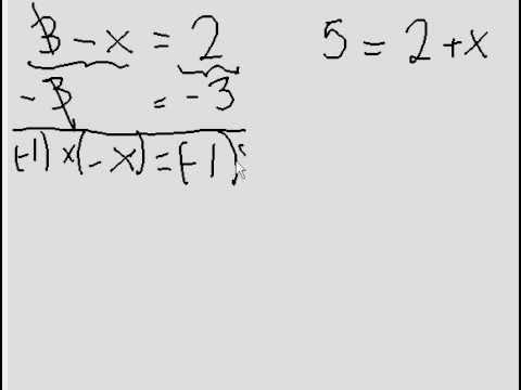 Simple Algebra - 2 questions (one step)