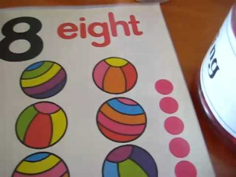 Toddler - Math. Numbers book