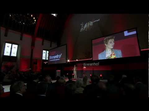 TEDxBinnenhof - Charlotte van Erp Taalman Kip - How to turn waste water into a goldmine