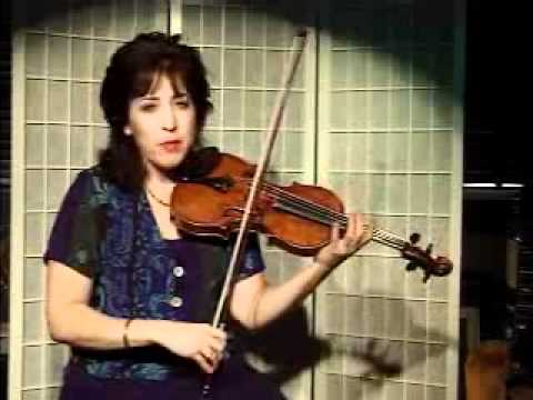 Violin Lesson - How to Play Country Fiddle Style Using The Shuffle Bowing Technique