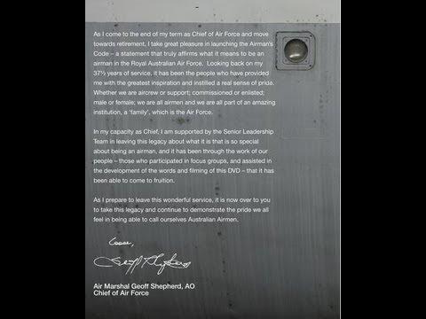 RAAF - Airman's Code