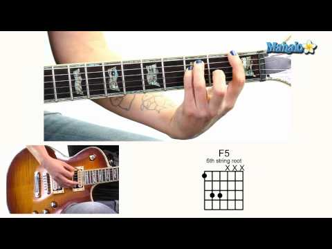 How to Play F5 Open 6th String Root On Guitar
