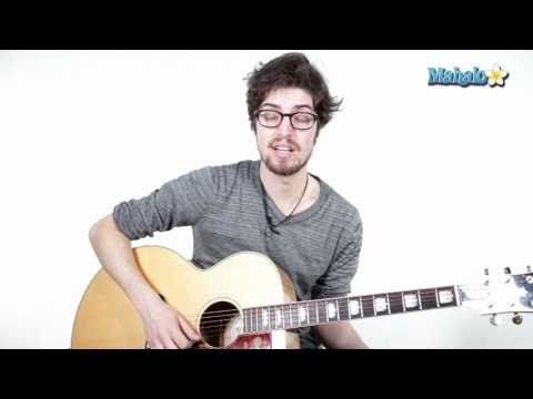 """How to Play the Angry Birds Theme Song """"B Section"""" on Guitar (Part 4)"""