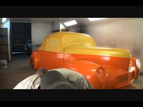 How To Paint Flames On Your Car-From Start To Finish-Part 1