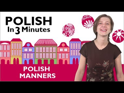 Learn Polish - Thank You & You're Welcome in Polish