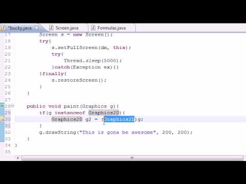 Java Game Development - 6 - Making Text Smooth