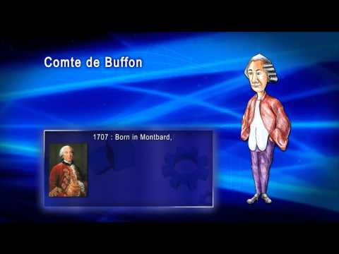 Top 100 Greatest Scientist in History For Kids(Preschool) -  COMTE DE BUFFON