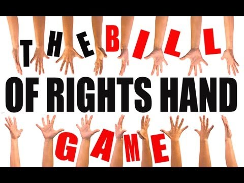 The Bill of Rights Hand Game