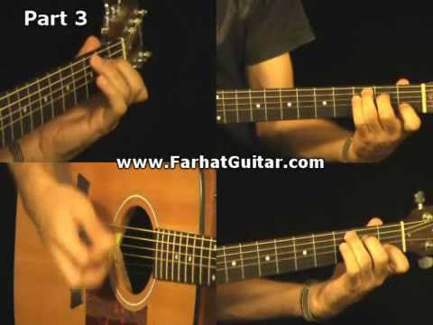 The man who sold the world - Nirvana Guitar live FarhatGuitar.com