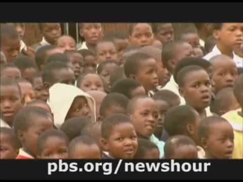 THE NEWSHOUR WITH JIM LEHRER | AIDS Orphans in S.A. | PBS
