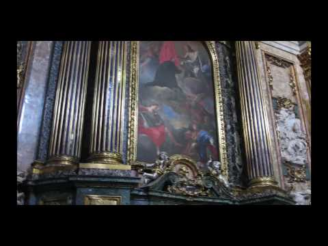 Pozzo, St. Ignatius Chapel, Il Gesu, Rome (commissioned in 1695)