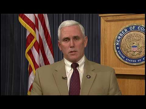 Rep. Mike Pence Details GOP View on Health Reform