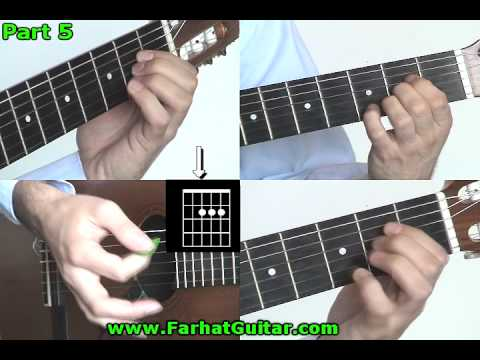 This boy  -The Beatles Part  5 guitar lesson www.FarhatGuitar.com