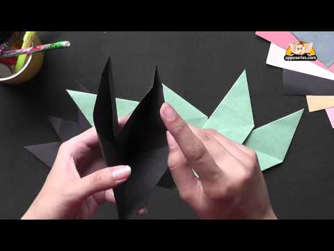 Origami - Make an 8 Point Star