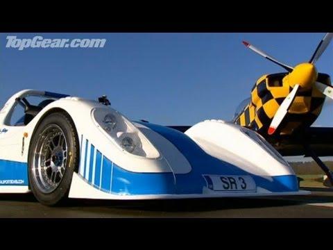 Top Gear - Plane vs Radical SR3 - BBC