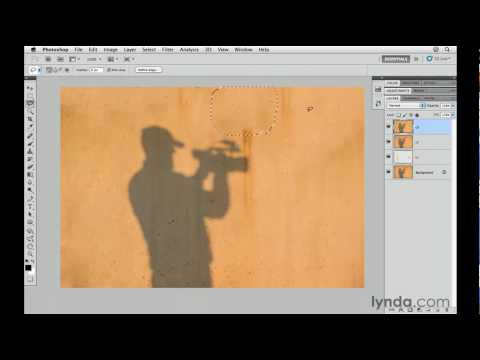 Photoshop CS5 tutorial: The Content-Aware Fill tool | lynda.com