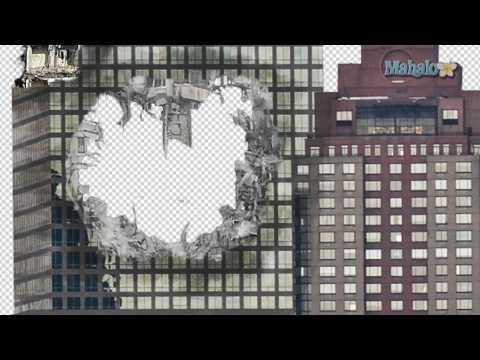 Photoshop Tutorial - Destroy City - Blend building hole