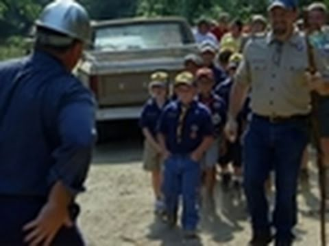 Swamp Loggers- Boy Scouts Visit Bobby