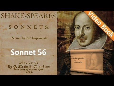 Sonnet 056 by William Shakespeare