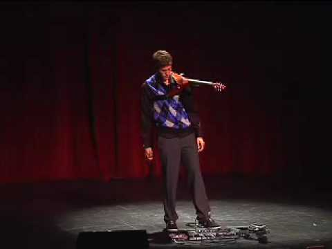 TEDxUSC - Peter Lee Johnson - Electric Violin Performance
