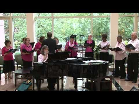 Singing support: MD Anderson Celebration Singers