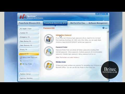 Remove or Bypass Forgotten Windows 7 Password by Britec
