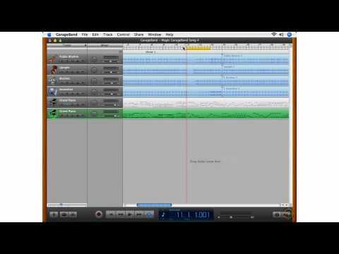 What's New in GarageBand 08 - Multi-take Recording