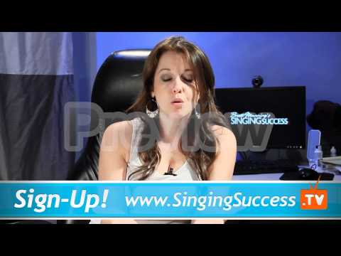Singing Lessons - Proper Edge Coordination