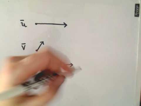 Vector Basics - Drawing Vectors/ Vector Addition