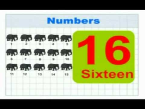Rhymes and Alphabet - Play with Numbers - Creative Learning for Kids