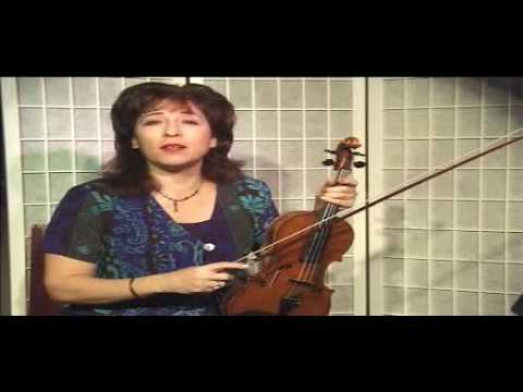 Violin Lesson - Song Demonstration - Oh come little Children