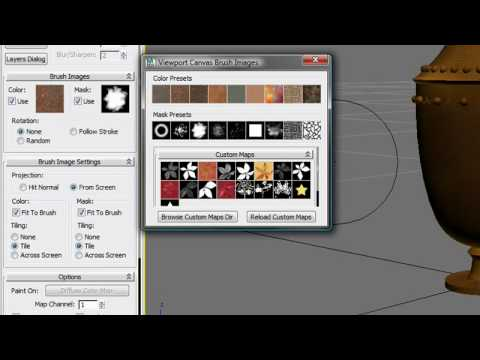 Viewport Canvas — 3ds Max Design 2011 New Features