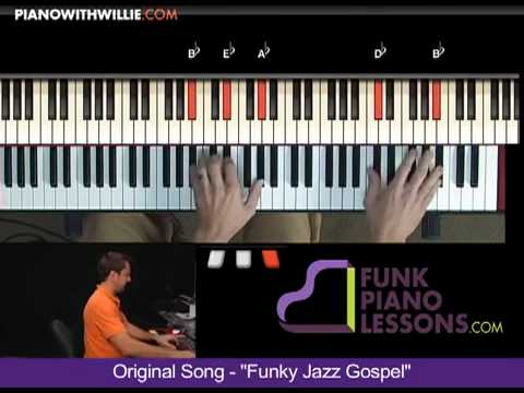 Original Song - Funky Jazz Gospel Introduction